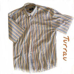Turrau Made in Spain men's Short Sleeve Short Sz L